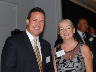 Mayor of Joondalup Mr Troy Pickard and Mayor of Wanneroo Mrs Tracey Roberts attended the opening