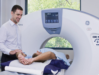 Why would a doctor order a coronary calcium scan?